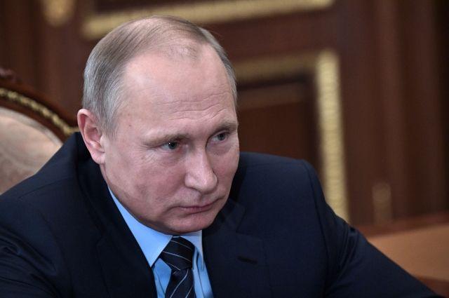 Путин присвоил шестнадцати сотрудникам Генпрокуратуры генеральские звания