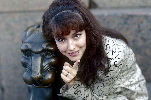 Анна Самохина.