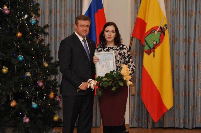 Марина Дрозд победила в номинации «Лучший молодой журналист года».