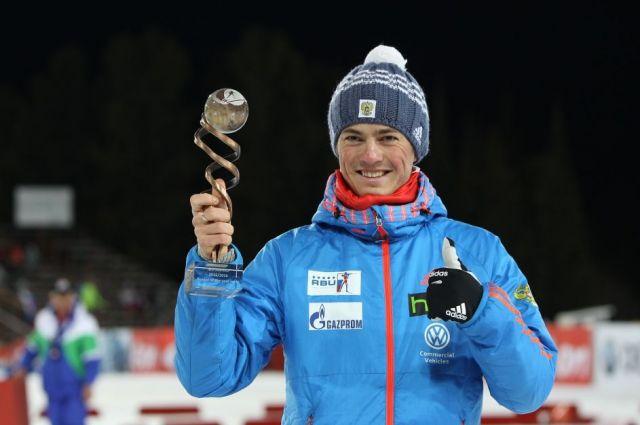 Российские биатлонисты завоевали бронзу в эстафете на этапе КМ