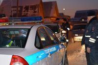 На место ДТП выезжали сотрудники ГИБДД