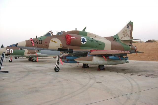 Израиль нанес авиаудар посектору Газа