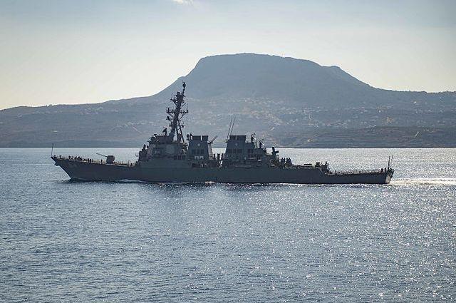 Ракетный эсминец США покинул Черное море после учений с Украиной