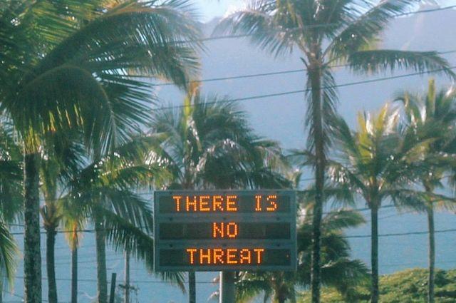 Стала известна причина ложной ракетной тревоги на Гавайях