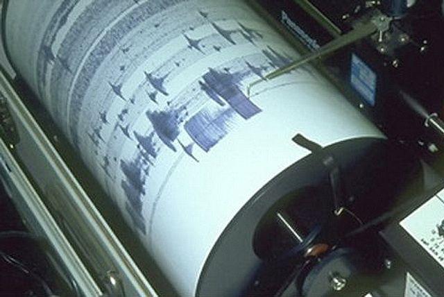 Уберегов Камчатки зафиксировано землетрясение магнитудой 4,9