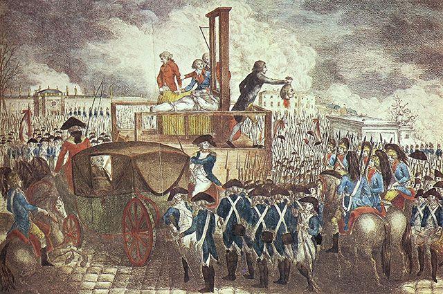 Казнь Людовика XVI.