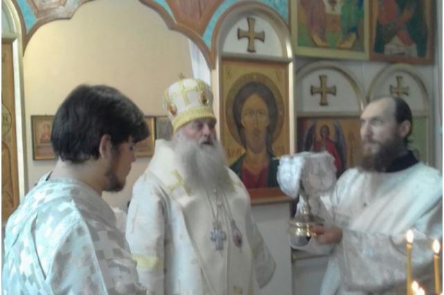 Митрополит Барнаульский и Алтайский Сергий освятил часовню