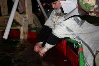 В Крещение для салехардцев установят три тёплых палатки для переодевания