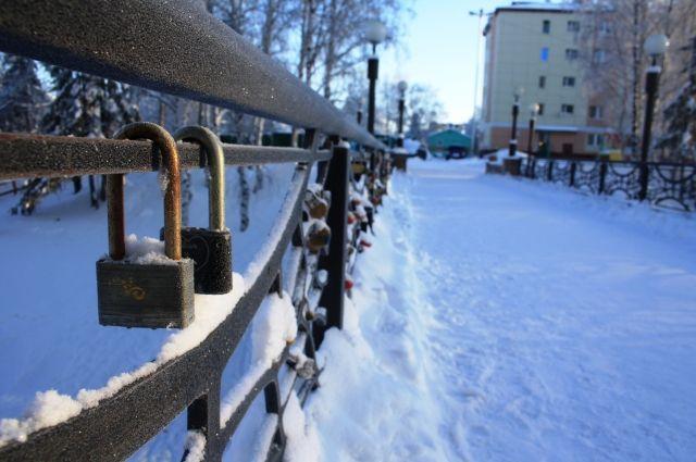 В Югре этой зимой температура воздуха ни разу не опускалась ниже -30 градусов.