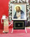 Для гостей и жителей города привезены христианские святыни более чем из 300 храмов и монастырей России и зарубежья.