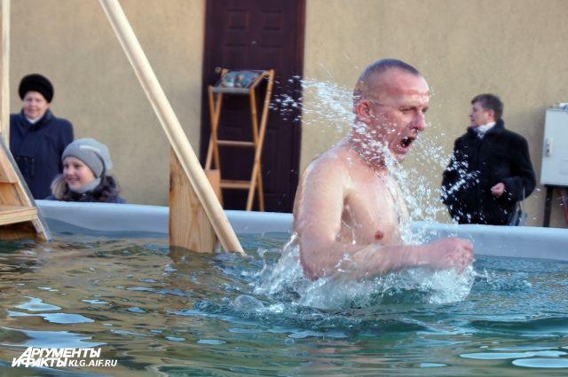 На Крещение в Калининградской области организуют 18 мест для купаний.