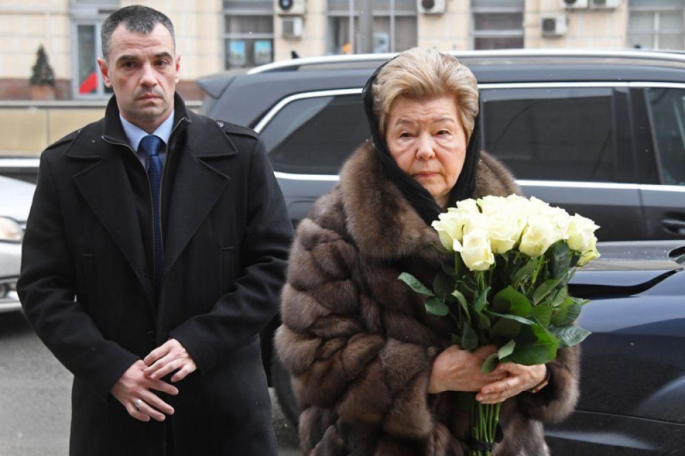Вдова первого президента России Наина Ельцина.