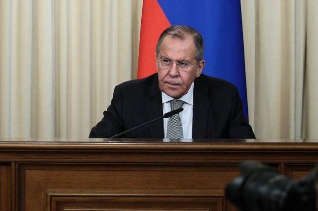 Руководитель  русского  МИД подведет прошлого года
