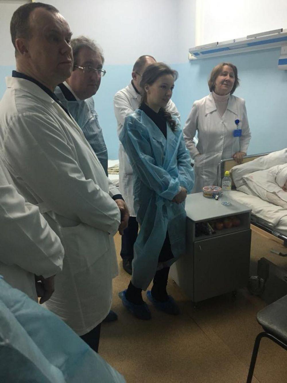 Анна Кузнецова пообщалась со всеми пострадавшими детьми.