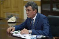 Сергей Меняйло прибыл с рабочим визитом в Омск.