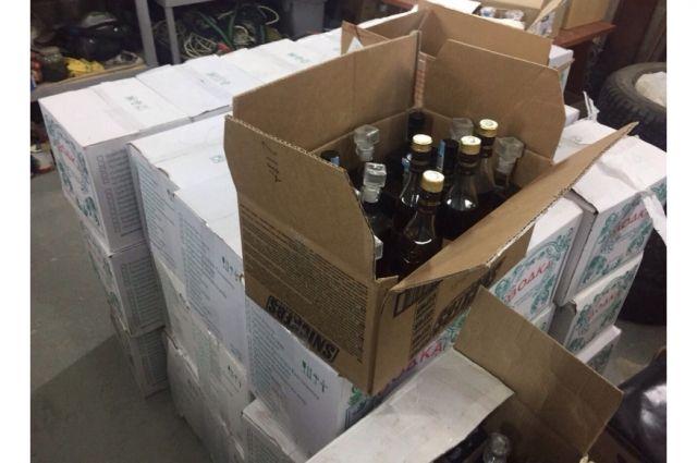 В Новом Уренгое из магазина «ушёл» ящик с алкоголем