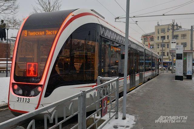 Трамвай «Витязь-М».