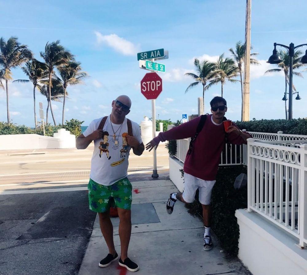 Потап со своей командой отправился во Флориду.