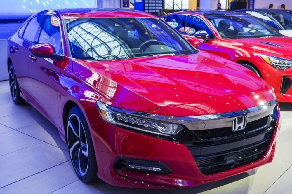 Лучшим легковым автомобилем года был признан Honda Accord.