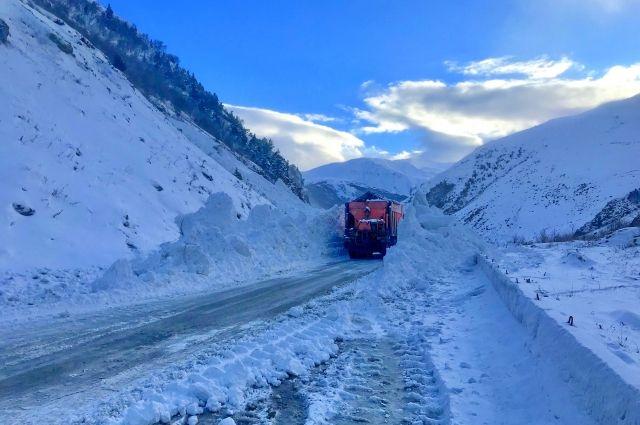 Военно-Грузинская дорога открыта для проезда легкового транспорта