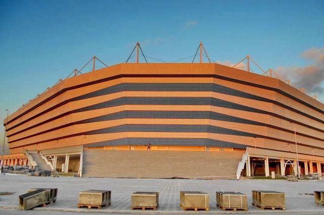 Стадион а Калининграде пришлось поднимать на 1,7 м из-за угроз подтопления.