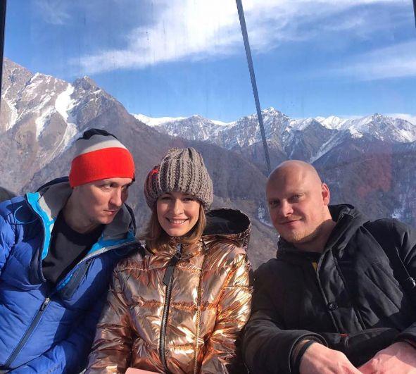 Елена Кравец так же была замечена в Азербайджане в горах на высоте 2013 м.