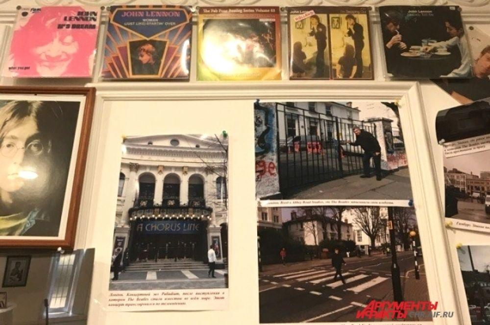 Коллекционер Александр Лесных побывал на самых значимых местах, связанных с любимой группой.
