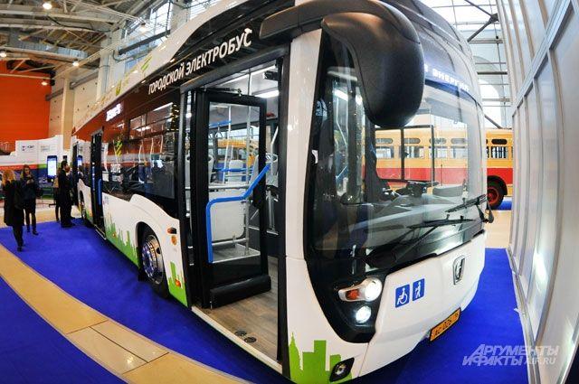 Северный город станет испытательным полигоном для первого электробуса завода КамАЗ.