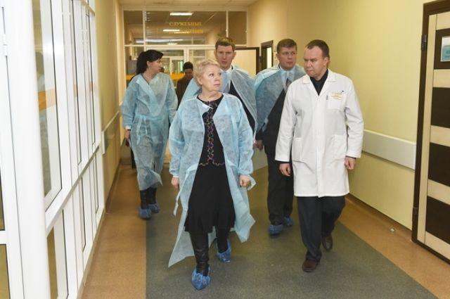 Ольга Васильева посетила в Перми больницы, где находятся пострадавшие.