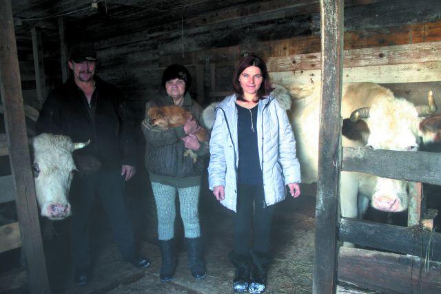 Семья Мозговых удачно занялась фермерством.