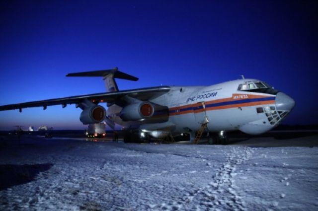 МЧС самолетом доставит в российскую столицу 3-х пострадавших при взрыве газа вОмске