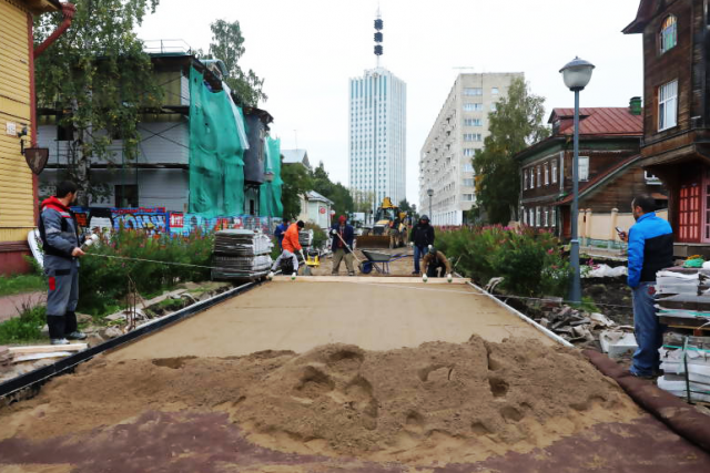 В 2017 году отремонтировали проспект Чумбарова-Лучинского