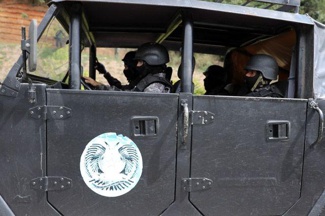 Во время спецоперации в Каракасе.