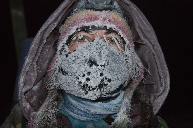 На севере края столбик термометра может опуститься до -58°C.