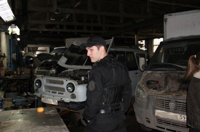 Приставы нашли автомобиль должника в одном из автосервисов Перми