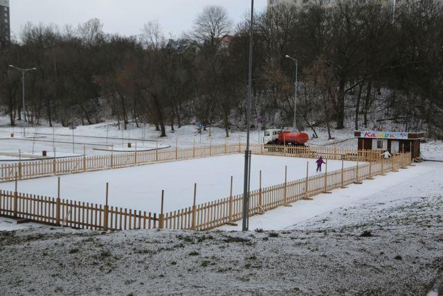 ВВоронеже откроется еще два новых катка под открытым небом