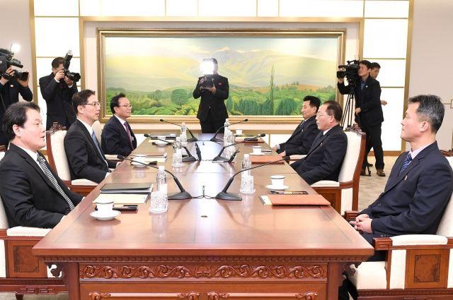 Спортсмены Южной Кореи и КНДР пройдут под одним флагом на открытии ОИ-2018
