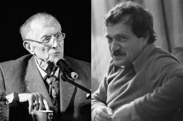 Евгений Евтушенко и Василий Аксёнов.