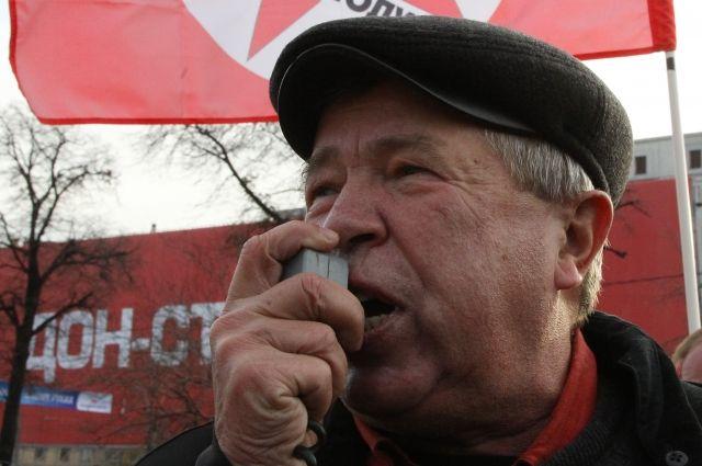 Прощание с Виктором Анпиловым пройдет 20 января на Троекуровском кладбище