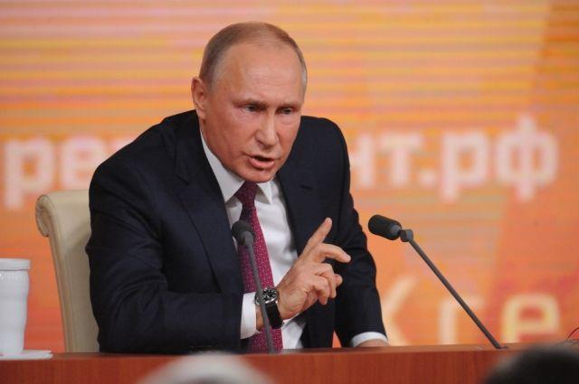 Путин поручил выделить 5 млрд рублей на благоустройство малых городов