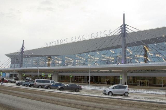 На базе аэропорта Красноярск хотят сделать сухой порт.