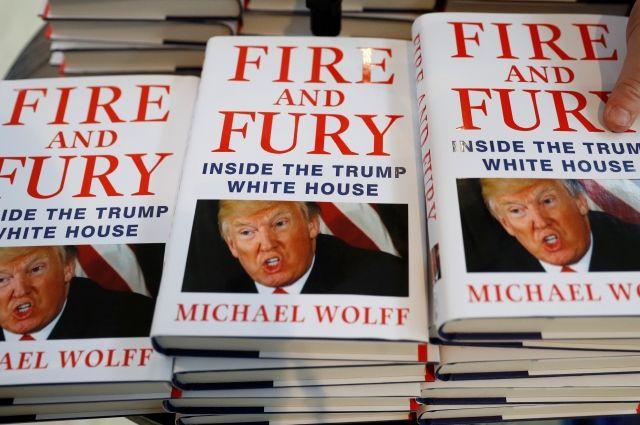 Скандальная книжка оТрампе ляжет воснову сериала, пишут СМИ