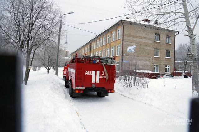 Пермская школа возобновила работу после инцидента