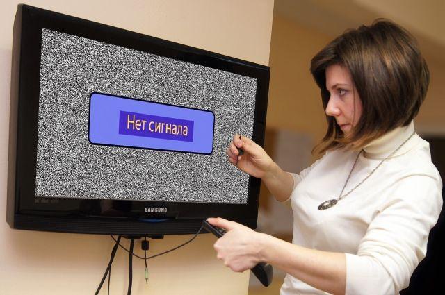 В Калининграде возможны перебои в работе 30 телевизионных каналов.