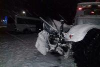 В Сумской области маршрутка столкнулась с трактором: пять пострадавших