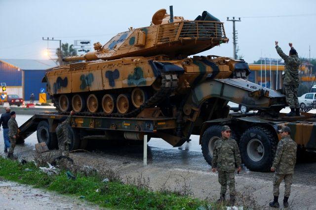 Турецкая армия приведена в боеготовность у границы с Сирией