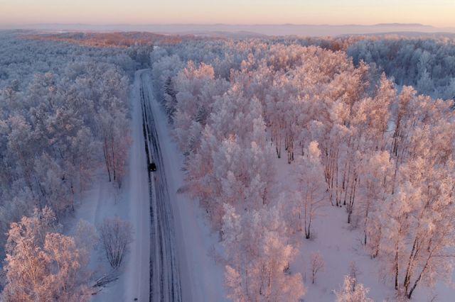 12 удивительных зимних пейзажей