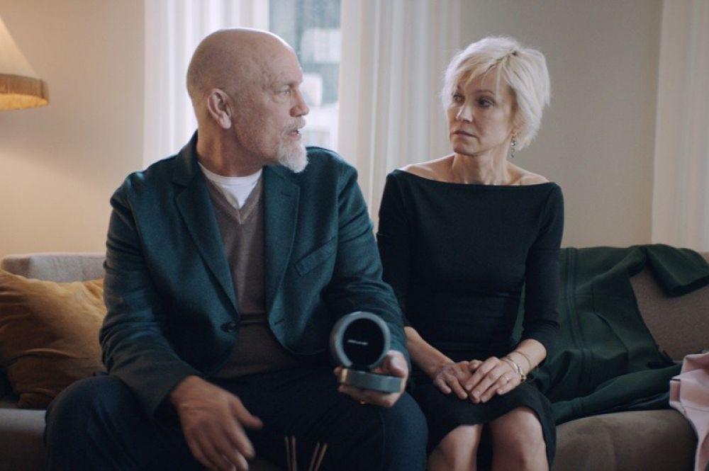 Ингеборга Дапкунайте и Джон Малкович в фильме «Про любовь. Только для взрослых» (2017) Анны Меликян.