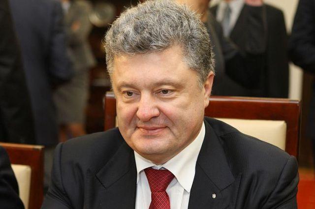 Генерал-губернатор Канады вручила Порошенко снимок Киева из космоса