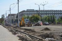 Ремонт проспекта Мира край будет завершать за свой счёт.